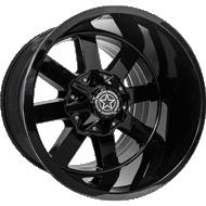 DWG Offroad <br/>DW15 All Gloss Black Wheels