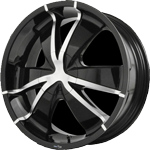 Envy Wheels <br/> Tarantula Black
