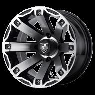 Fairway Alloys Wheels <br/>Rage Machined Gloss Black