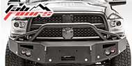 Fab Fours Dodge HD SENSOR Winch Bumper w/ Pre-Runner Guard