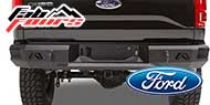 Fab Fours Ford Rear Bumpers