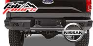 Fab Fours Nissan Rear Bumpers