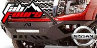 Fab Fours Nissan<br /> Vengeance Sensor Bumpers