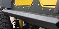 Fab Fours Rock Sliders<br /> Jeep JK 4-Door
