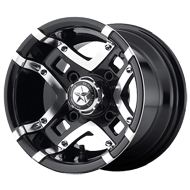 Fairway Alloys<br /> Prestige Machined Gloss Black