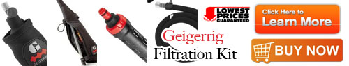 Geigerrig Filter Kit