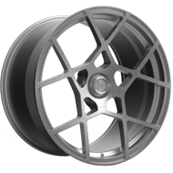 Fittipaldi Wheels <br/>FSF01HB Brushed with Dark Tint Clear-Coat