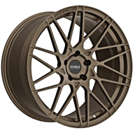 Fittipaldi Wheels <br/>FSF03BZ Brushed with Gloss Bronze Tint