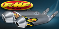 "<strong><font color=""#0084ff"">FMF Racing </font><font color=""#ffd504"">ATV Mufflers & Silencers</font></strong>"
