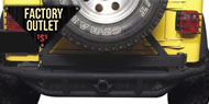 Factory Outlet Jeep - Rock Crawler Rear Bumpers