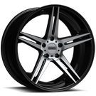 Fondmetal Wheels <br/>180MB STC-05 Gloss Black Machined