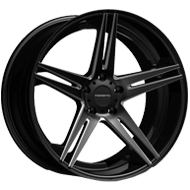Fondmetal Wheels <br/>180BM STC-05 Gloss Black Milled