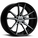 Fondmetal Wheels <br/>182MB STC-10 Gloss Black Machined