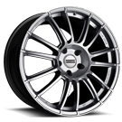 Fondmetal Wheels <br/>183S 9RR Gloss Silver