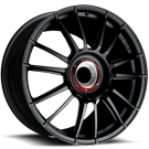 Fondmetal Wheels <br/>184B 9RRMD Monodado Gloss Black