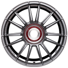 Fondmetal Wheels 184H 9RRMD Monodado Titanium