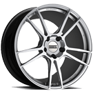 Fondmetal Wheels <br/>186S 9Forge Gloss Silver