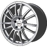 Fondmetal 183S 9RR Gloss Silver Wheels