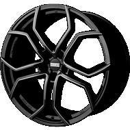 Fondmetal 185BM 9XR Gloss Black Milled Wheels