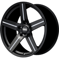 Fondmetal 187BM STC-1C Black Milled Wheels