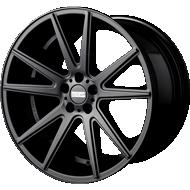 Fondmetal 182B STC-10 Matte Black Wheels