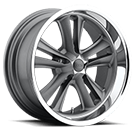 Foose Wheels<br /> F099 Knuckle Gun Metal Matte