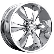 Foose F137 Legend Six Chrome Wheels
