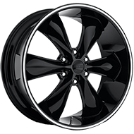 Foose F138 Legend Six Gloss Black Wheels