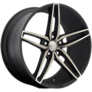 Foose F156 Stallion Black Machined Wheels