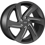 Foose F167 Bodine Matte Black Milled Wheels