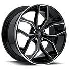 Foose Wheels<br /> F150 Outkast Black Milled