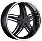 Milanni Wheels Force Gloss Black