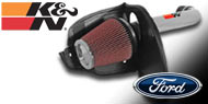 K&N Air Intake Kits <br> Ford