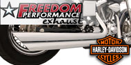 Freedom Performance Full System V Twin Exhaust<br />Harley Davidson