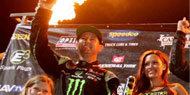 Jeremy McGrath/Fuel Offroad Tires Wins First Podium Finish of 2014