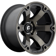 Fuel Wheels <br /> D564 Beast Black Machined