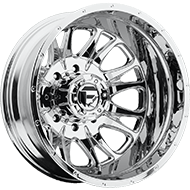 Fuel D212 Dually Rear Throttle Chrome Wheels