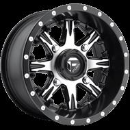 Fuel Wheels <br /> D541 Nutz Black Machined