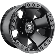 Fuel D577 Monsta Black Matte Wheels