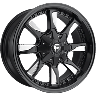 Fuel Wheels<br /> D603 Hydro Black Milled Matte