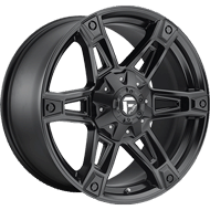 Fuel D624 Dakar Matte Black Wheels