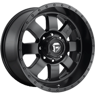 Fuel D626 Baja Matte Black Wheels