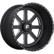 Fuel Wheels FF09 Black Milled