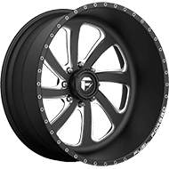 Fuel Wheels <br /> FF12 Black Milled