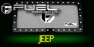 Jeep <br>Fuel Grilles