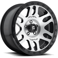 Fuel Wheels <br /> D585 Recoil Gloss Black Brushed