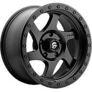 Fuel D570 Rotor Matte Black Wheels