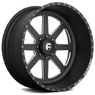 Fuel Wheels <br /> FF09 Black Milled