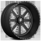 Fuel Wheels <br /> FF09 Black Milled