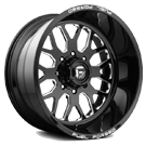 Fuel Wheels <br /> FF19 Black Milled